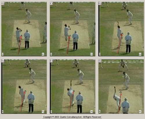 Analysis and performance in cricket